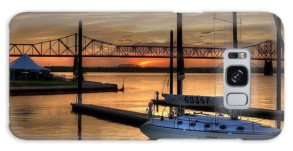 Ohio River Sailing Galaxy Case