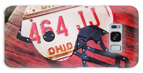 Sports Galaxy Case - Ohio State #buckeyes #football Helmet - by Design Turnpike