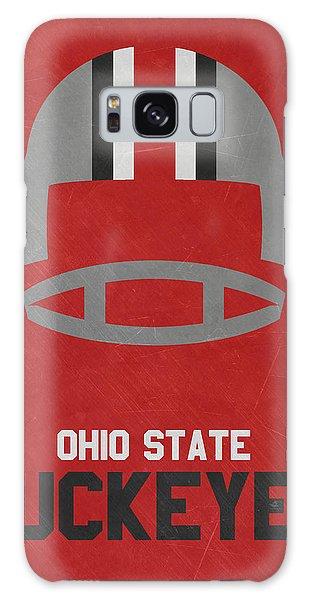 March Galaxy Case - Ohio State Buckeyes Vintage Football Art by Joe Hamilton