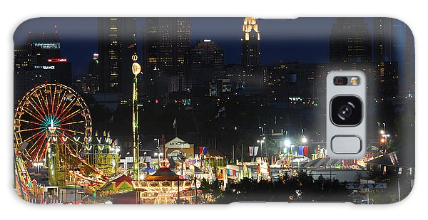 D3l-464 Ohio State Fair With Columbus Skyline Galaxy Case