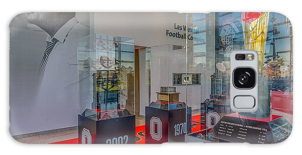 Ohio State Football National Championship Trophy Woody Galaxy Case