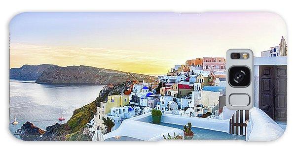 Oia, Santorini - Greece Galaxy Case