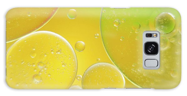 Oil And Water Bubbles  Galaxy Case