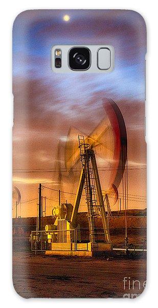 Oil Rig 1 Galaxy Case