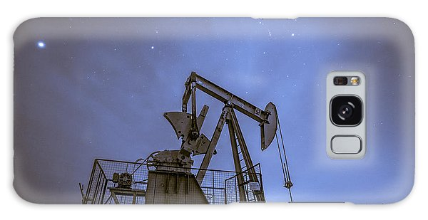 Oil Rig And Stars Galaxy Case