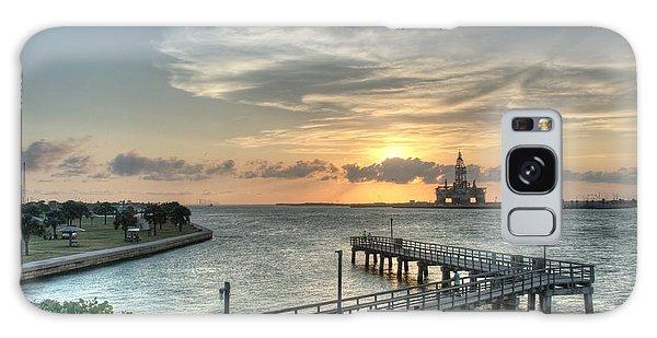 Oil Rig In Gulf Galaxy Case