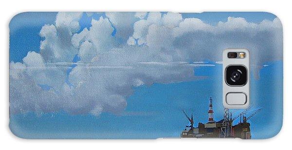 Oil Rig Near The Shetland Islands Galaxy Case