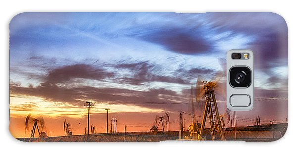 Oil Rigs 3 Galaxy Case