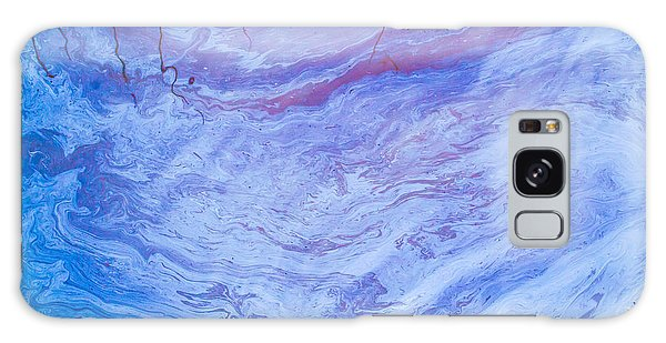 Oil Spill On Water Abstract Galaxy Case