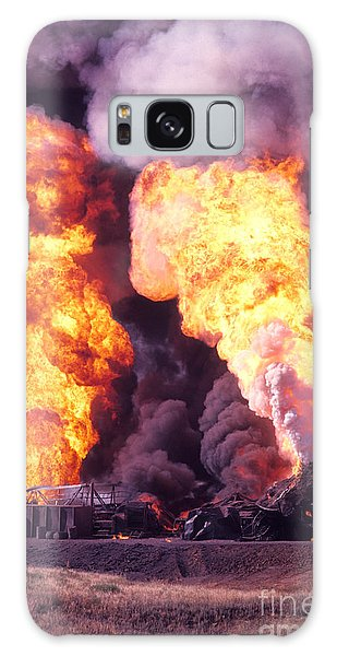 Oil Well Fire Galaxy Case