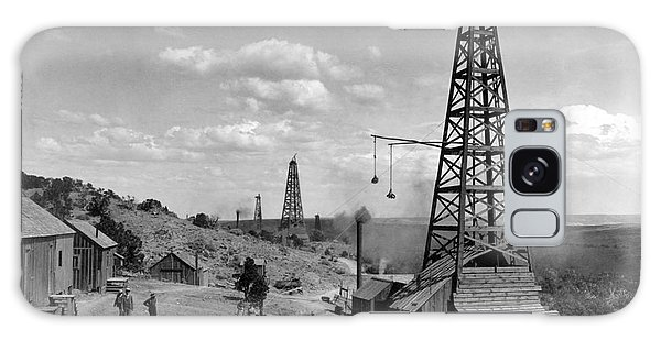 Oil Well, Wyoming, C1910 Galaxy Case