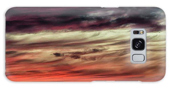 Galaxy Case featuring the photograph Ojo Caliente Sunset by Britt Runyon