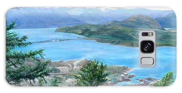 Okanagan Blue Galaxy Case by Bonnie Heather