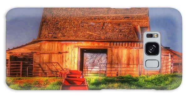 Oklahoma Barn Galaxy Case