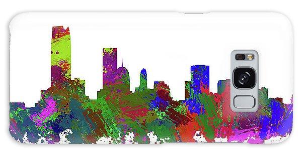 Ok Galaxy Case - Oklahoma City Skyline Painted by Ricky Barnard