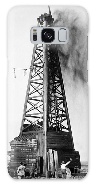 Oklahoma: Oil Well, C1922 Galaxy Case