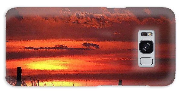 Galaxy Case featuring the digital art Oklahoma Sky At Daybreak  by Shelli Fitzpatrick