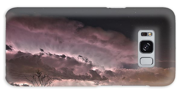 Oklahoma Sky Of Fire Galaxy Case by James Menzies