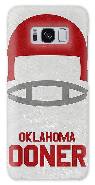 March Galaxy Case - Oklahoma Sooners Vintage Football Art by Joe Hamilton