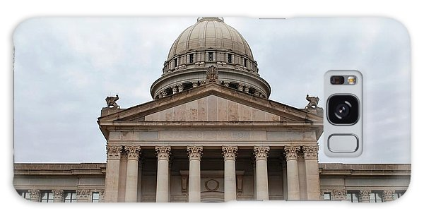 Oklahoma State Capitol - Front View Galaxy Case