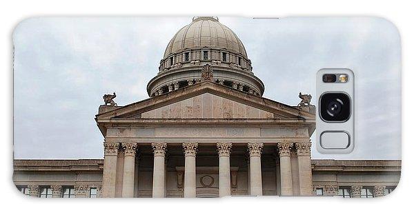 Oklahoma State Capitol - Front View Galaxy Case by Matt Harang