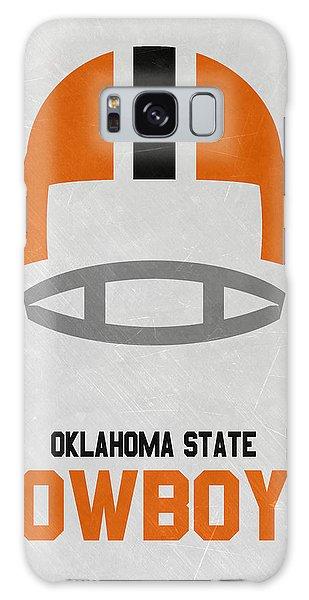 March Galaxy Case - Oklahoma State Cowboys Vintage Football Art by Joe Hamilton