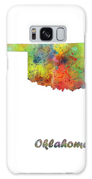 Ok Galaxy Case - Oklahoma State Map by Marlene Watson