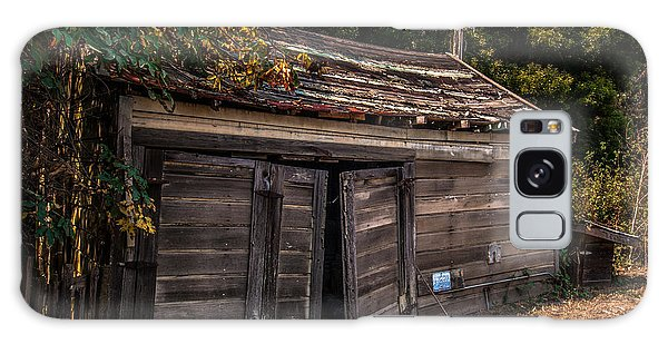 Old Abandoned Shed Sonoma County Galaxy Case