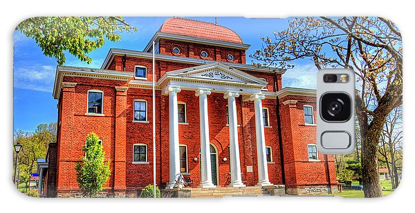 Old Ashe Courthouse Galaxy Case by Dale R Carlson