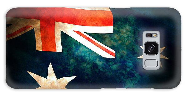 Old Australian Flag Galaxy Case