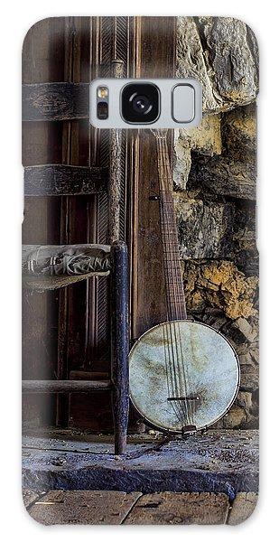 Old Banjo Galaxy Case by Heather Applegate