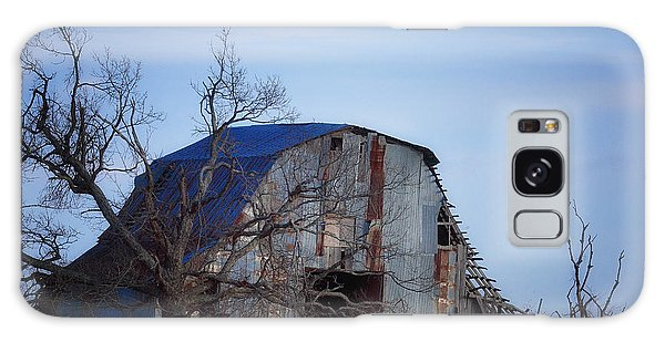Old Barn At Hilltop Arkansas Galaxy Case