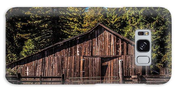 Old Barn Coleman Valley Road Galaxy Case