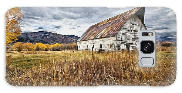Old Barn In Steamboat,co Galaxy Case