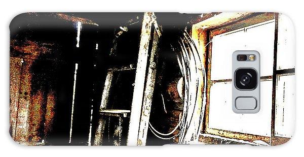 Old Barn Ladder Galaxy Case