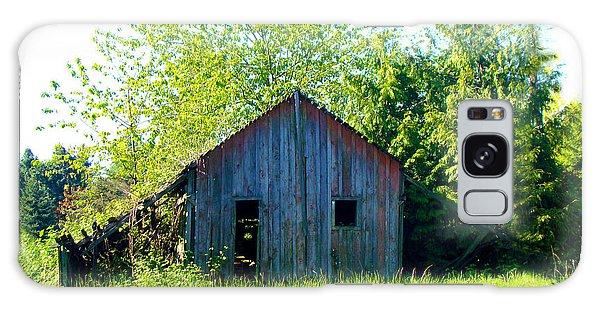 Old Barn Galaxy Case
