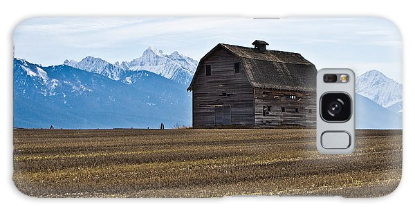 Old Barn, Mission Mountains 2 Galaxy Case