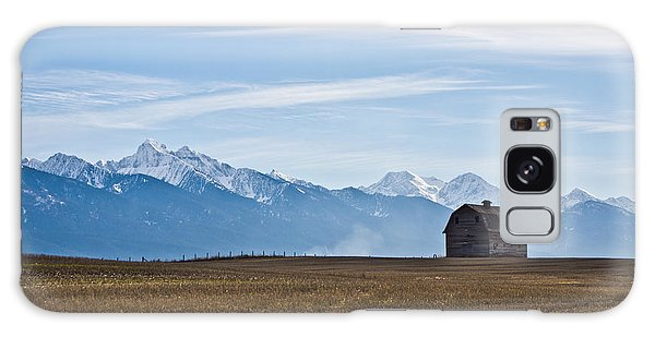 Old Barn, Mission Mountains Galaxy Case