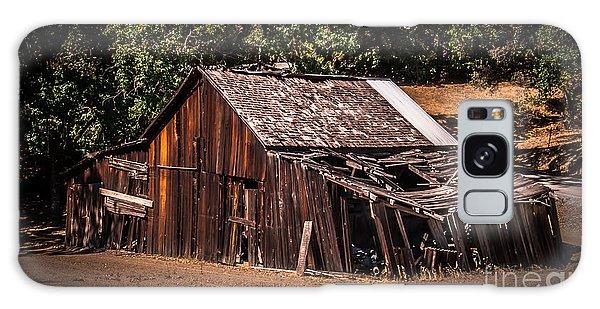 Old Barn River Road Sonoma County Galaxy Case