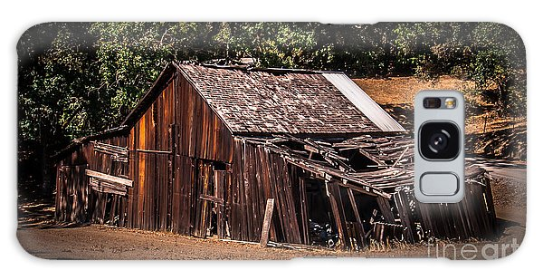 Old Barn River Road Sonoma County Galaxy Case