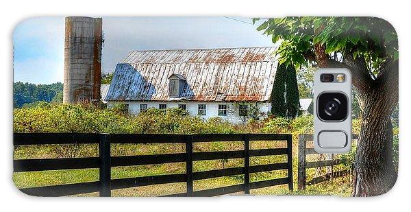 Old Barn Galaxy Case by Ronda Ryan