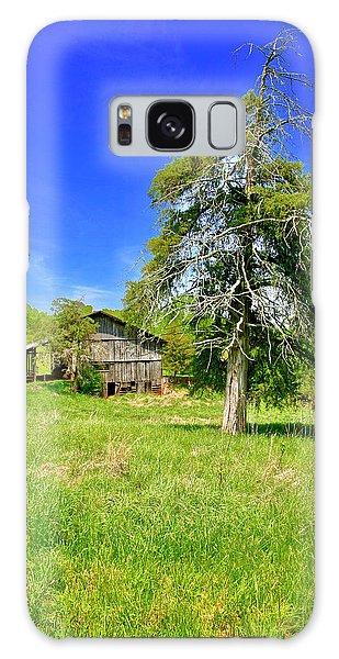 Old Barn, Smith Mountain Lake Galaxy Case
