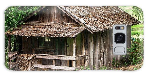 Old Cabin Tolay Ranch Sonoma County Galaxy Case