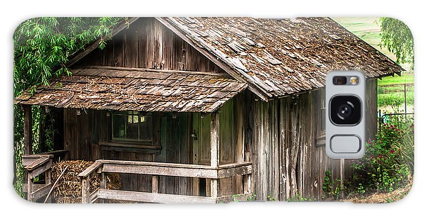 Old Cabin Tolay Ranch Sonoma County Galaxy Case