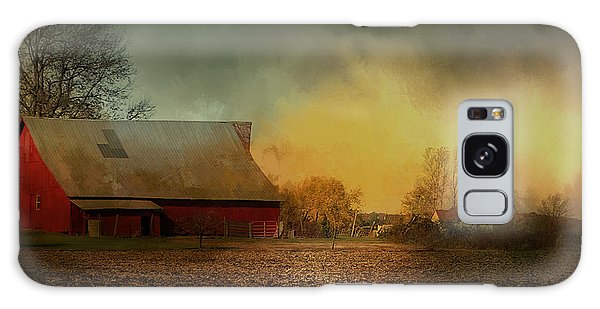 Old Barn With Charm Galaxy Case