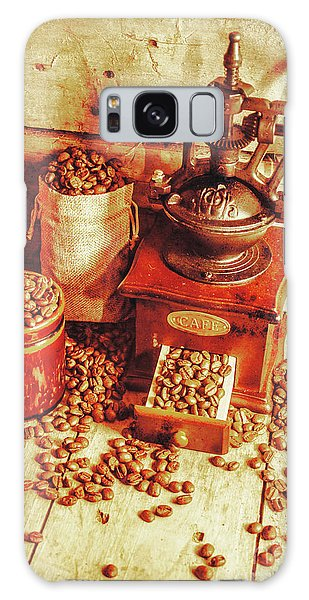 Cafe Galaxy Case - Old Bean Mill Decor. Kitchen Art by Jorgo Photography - Wall Art Gallery