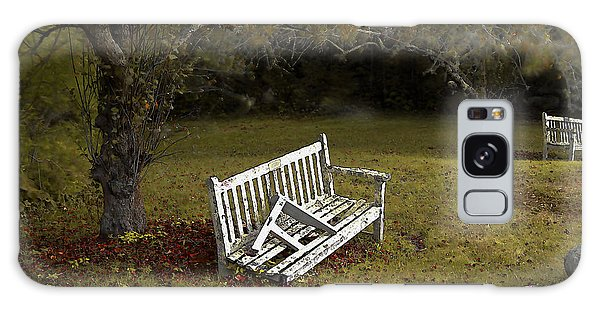 Old Benches Galaxy Case