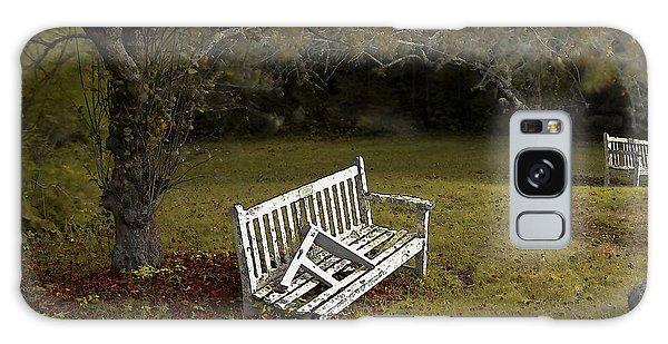 Old Benches Galaxy Case by Alex Galkin