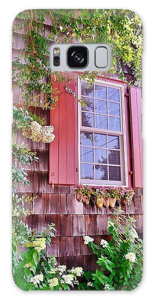 Old Bethel Church Window Galaxy Case