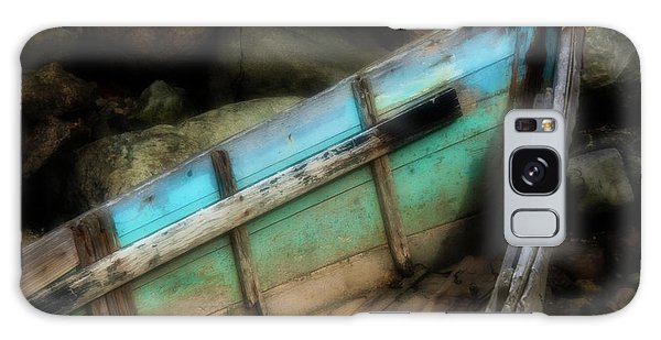 Old Boat 1 Stonington Maine Galaxy Case